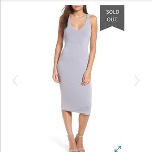 Leith // NWT Sleek Knit Midi Dress